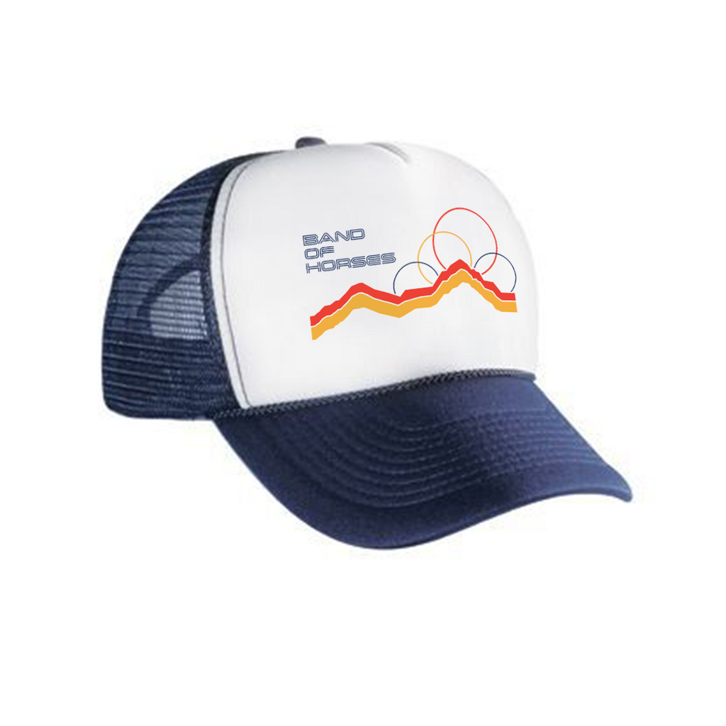 Hills On Trucker Hat - Band of Horses Store