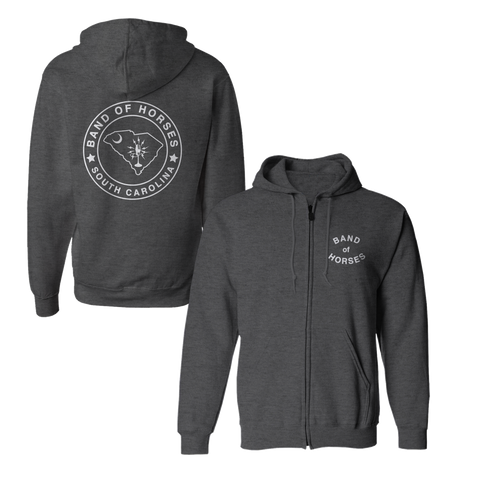 South Carolina Zip Hoodie - Band of Horses Store