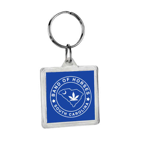 South Carolina Blue Keychain - Band of Horses Store