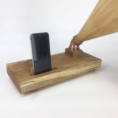 Wooden Passive Cellphone Amplifier