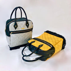 Quilted Wool Day Bag