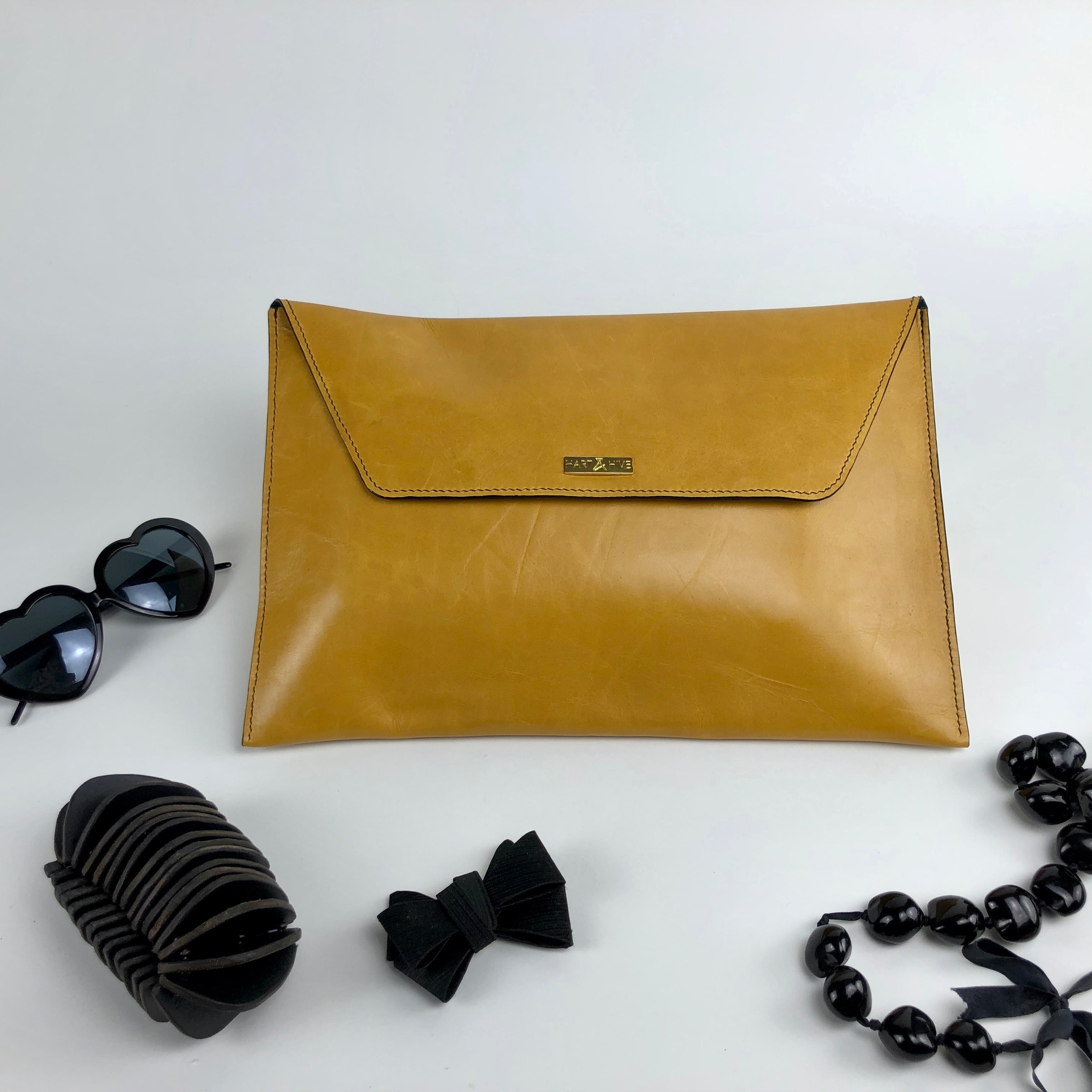 Oversized Envelope Clutch (Various Colours)