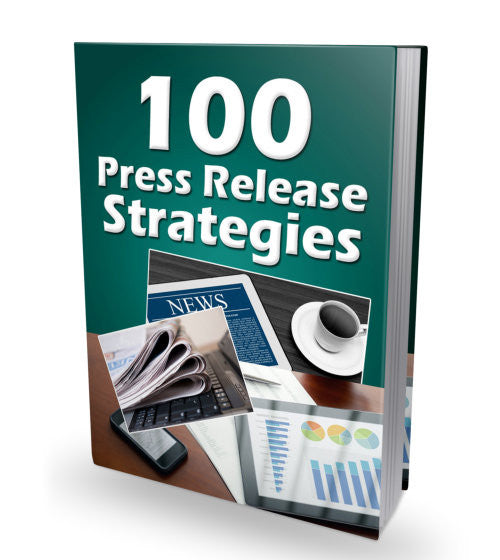 100 Press Release Strategies