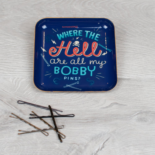 Where the H*ll Bobby Pin Tray