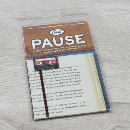 Cassette Tape Bookmark Duo