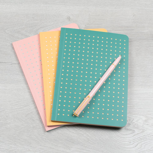 Pastel Trio of Notebooks