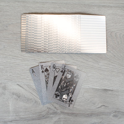 Silver Playing Cards