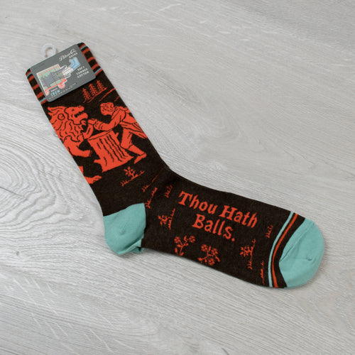 Men's Thou Hath B*lls Socks
