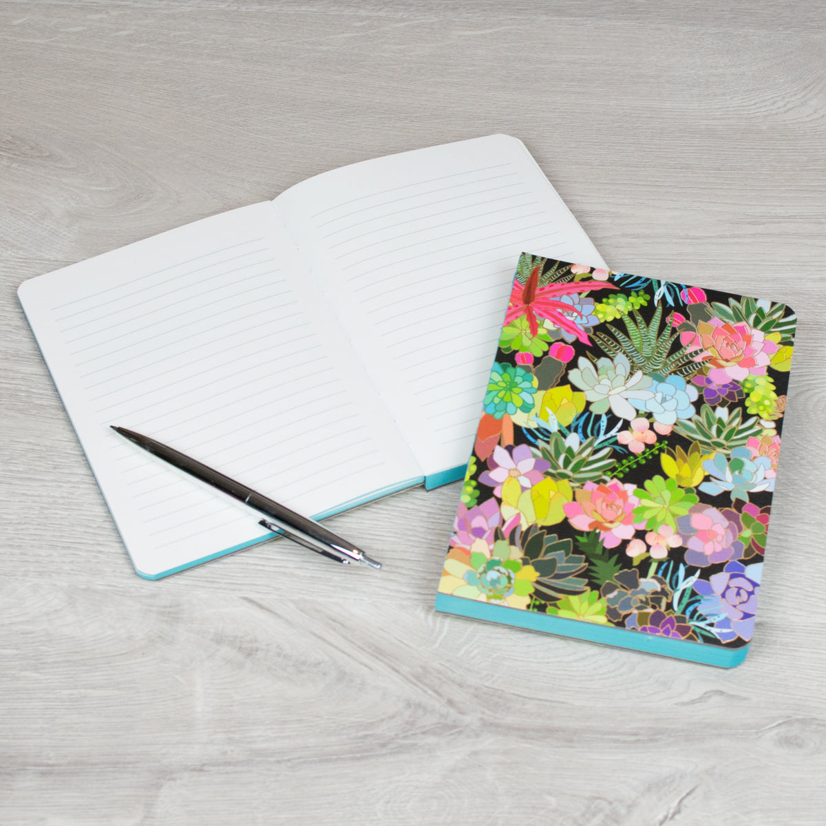 Succulent Notebook