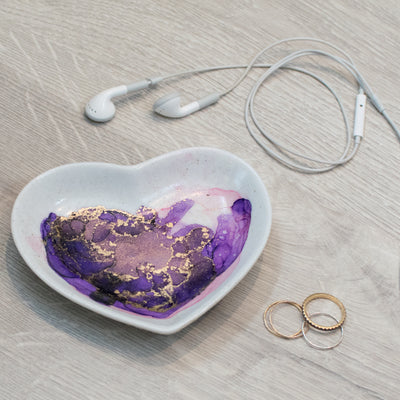 Watercolor Jewelry Trays