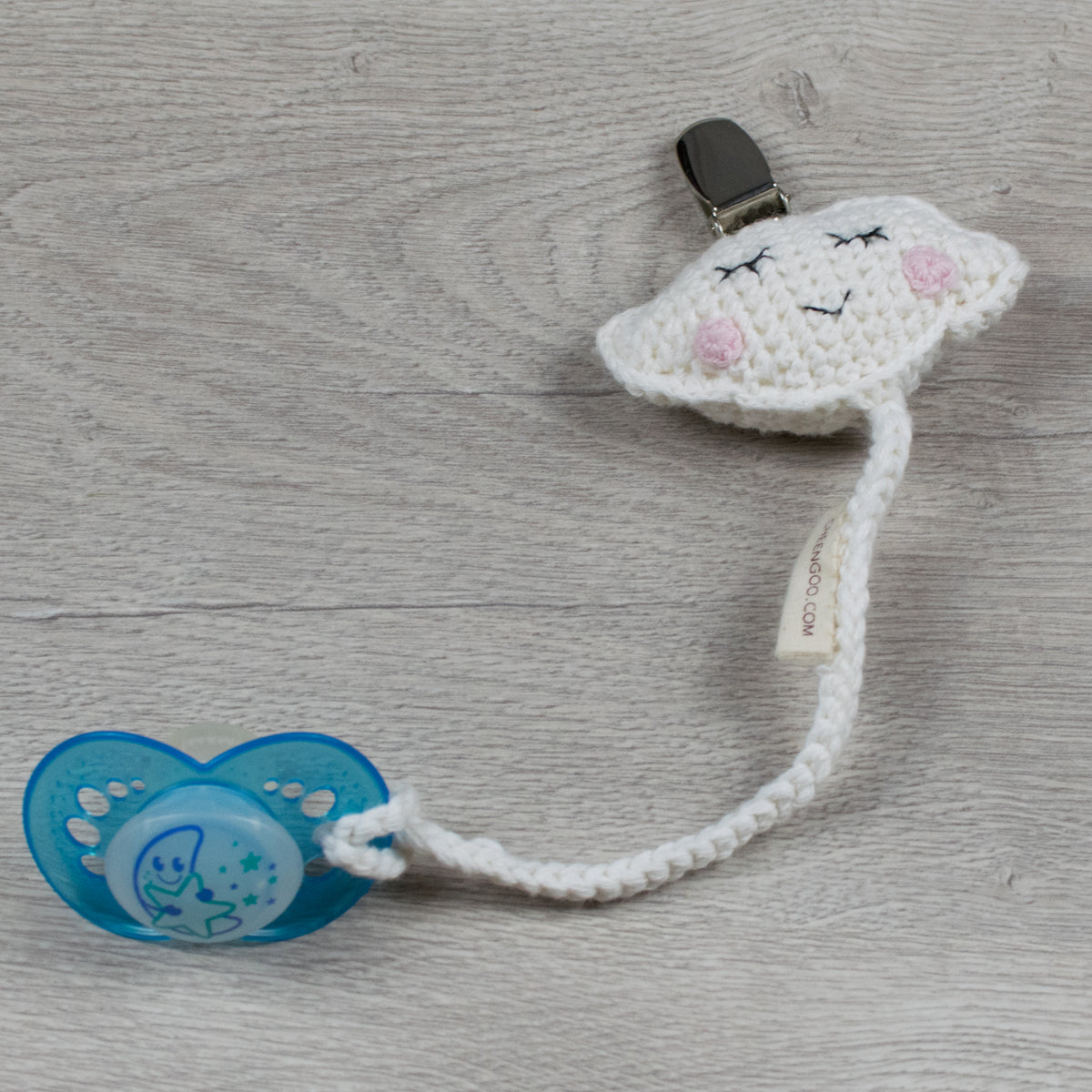 Cloud Pacifier Holder