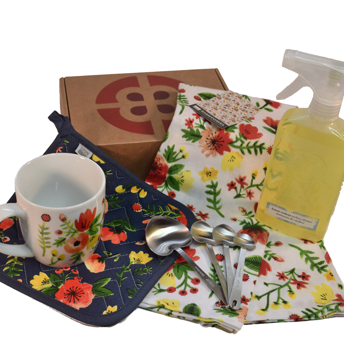 Midnight Flowers Kitchen Gift Set