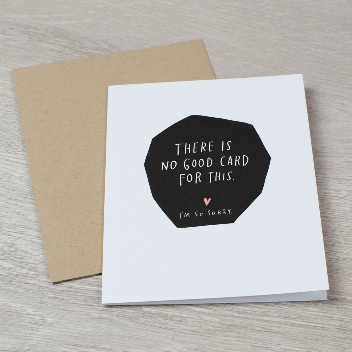 No Good Card sympathy card