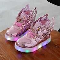 Children Light up Sneakers with Wings