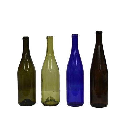 750 mL Burgundy Wine Bottles Case of 12