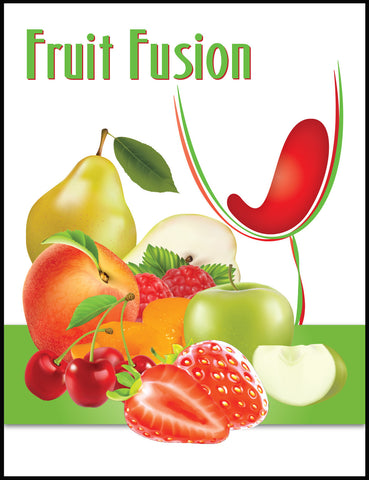 Fruit Fusion Wine Label