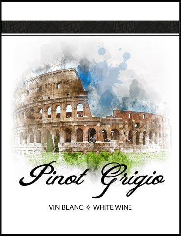 Pinot Grigio Wine Labels