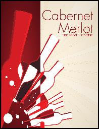 Cabernet / Merlot  Wine Labels