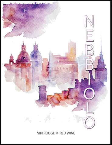 Nebbiolo Wine Labels