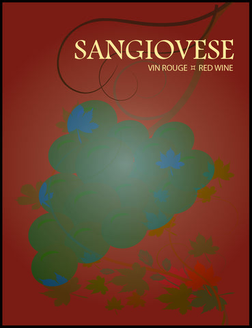 Sangiovese Wine Labels