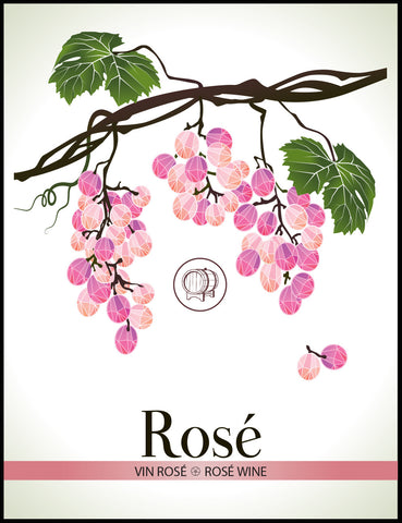 Rose Wine Labels