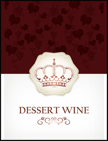 Dessert Wine Labels