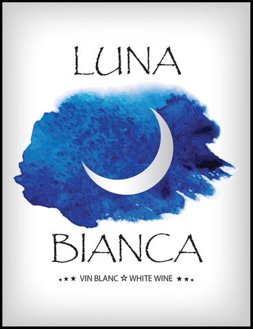 Luna Bianca Wine Labels