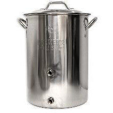 8 Gal Brewers Best Brewing Kettle w/two Ports