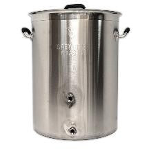 8 GAL Brewers Beast Brewing Pot with w/two ports