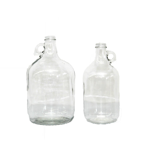 Glass growler
