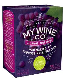 DIY MY WINE CO. PINOT GRIGIO 2.17L WINE KIT