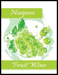 NIAGARA FRUIT WINE LABELS 30/PACK