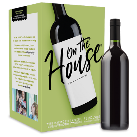 ON THE HOUSE CALIFORNIA RED 6L WINE KIT