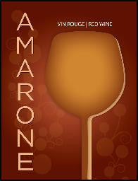 Amarone Wine Labels