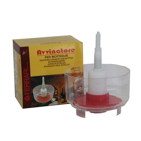 Bottle Rinser Sanitizer Sulphiter