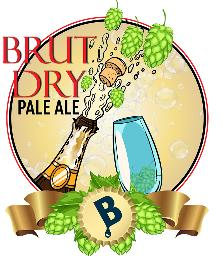 BB BRUT DRY PALE ALE BEER KIT (LIMITED)
