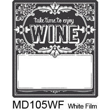 Chalkboard 105 Custom Wine Labels Set of 30