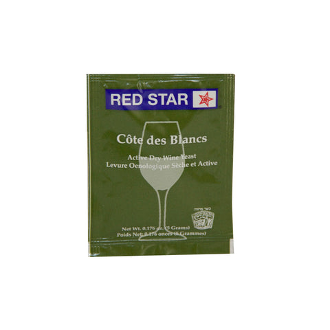 Red Star Cote Des Blancs Wine Yeast