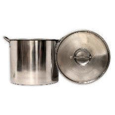 20 Qt Stainless Steel Brew Pot with Lid