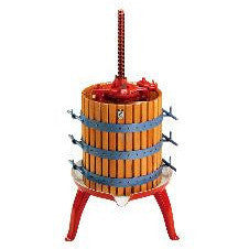 "FRUIT PRESS #25 10"" X 14"" RATCHET STYLE, 50 LB CAPACITY"