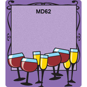 Fun Glasses 62 Custom Wine Labels Set of 30