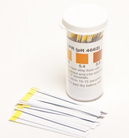 pH Test Strips Beer