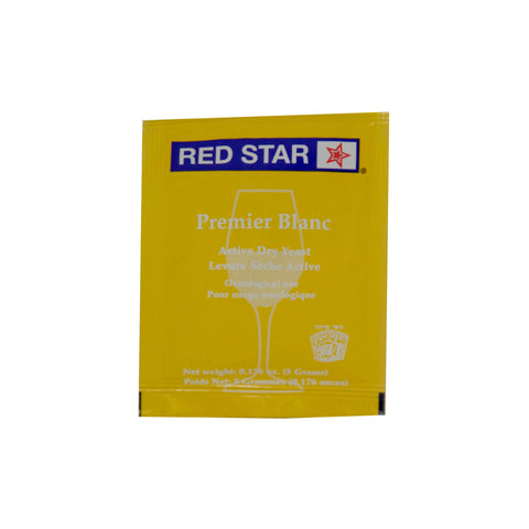 Red Star Premier Blanc Wine Yeast