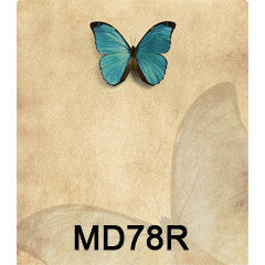 Butterfly 78 Custom Wine Labels Set of 30