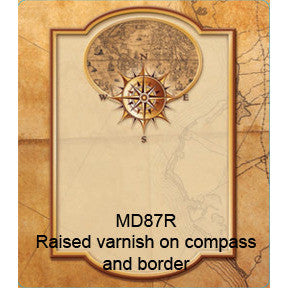 Compass 87 Custom Wine Labels Set of 30