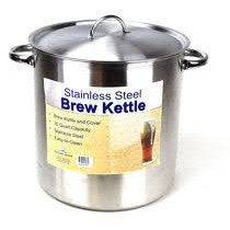 Stainless Steel Brew Pot 30 Qt