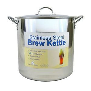 Stainless Steel Brew Pot 42 Qt