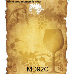 Vintage 92 Custom Wine Labels Set of 30