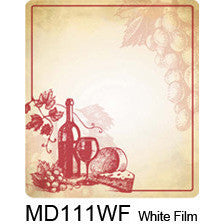 Wine Sketch 111 Custom Wine Labels Set of 30