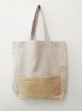 Tote bag lin & tissage WOVE